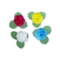 Wafer Flower - Rose | 20pcs
