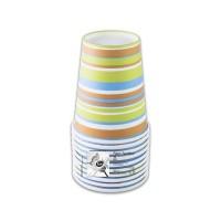Fun® Paper Cup 7oz - Evergreen 5   10pcsx12pkts