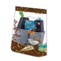 Fun® Plastic Espresso Cup 3oz - Assorted Colors   50pcsx20pkts