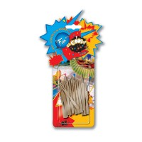 Fun® Mini Fork Wooden Picks | 36pcsx24pkts