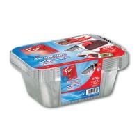 Fun® Aluminium Container w/ Lid 870cc | 10pcsx100pkts