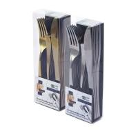 Fun® Premium Cutlery Set - Gold/Silver | 18pcsx24pkts