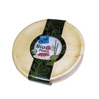 Fun® Palm Bio Leaf Round Plate ⌀10in   10pcsx10pkts