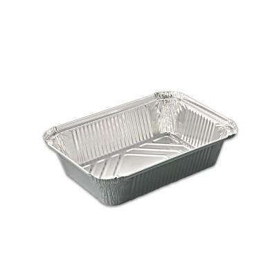 Rectangular Aluminium Container 1850cc  size 250 x 183 x 52mm  | 400pcs
