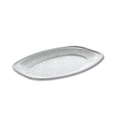 Oval Aluminium Platter 255x175x15mm Mini | 150pcs