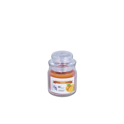 Fun® Scented Candles in Round Jar  6x9cm - Orange | 1pcx12pkts
