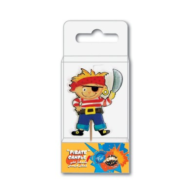 Fun® Birthday Candle - Pirate | 1pcx10pkts