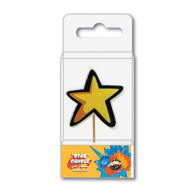 Fun® Birthday Candle  - Star | 1pcx40pkts