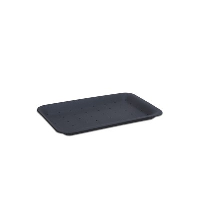 Foam Tray 222x133x25mm - Absorbent/Black | 500pcs