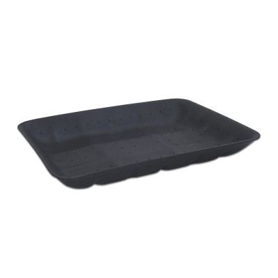 Foam Tray 320x235x40mm - Absorbent/Black | 100pcs