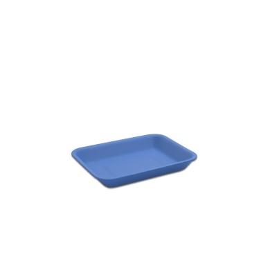 Foam Tray 167x129x25mm - Blue   500pcs