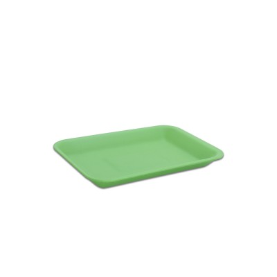 Foam Tray 216x152x20mm - Green | 500pcs