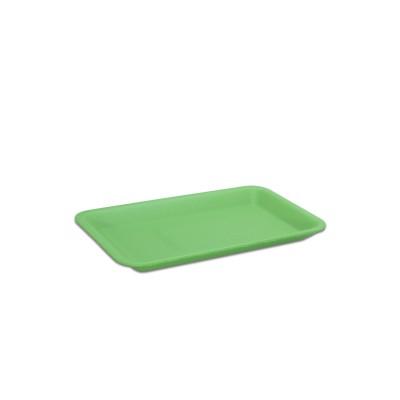 Foam Tray 222x133x25mm - Green | 500pcs
