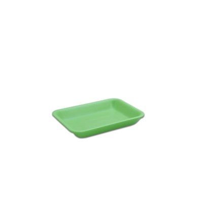 Foam Tray 167x129x25mm - Green | 500pcs