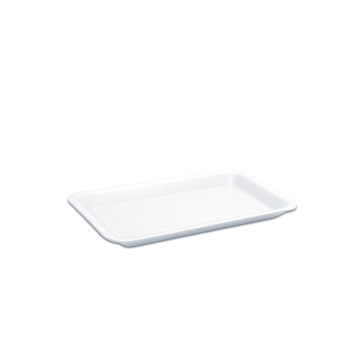 Foam Tray 222x133x25mm - White | 500pcs