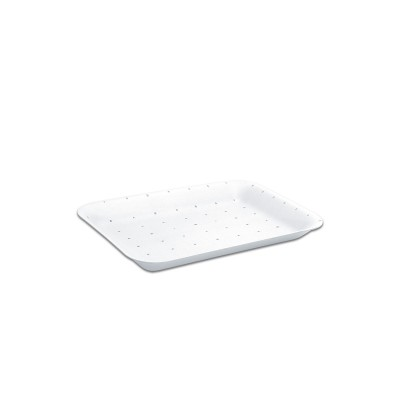 Foam Tray 216x152x20mm - Absorbent/White | 500pcs