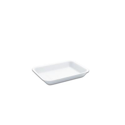 Foam Tray 167x129x25mm - White | 500pcs