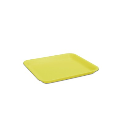 Foam Tray 216x178x20mm - Yellow | 250pcs