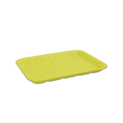 Foam Tray 265x189x20mm - Absorbent/Yellow | 250pcs