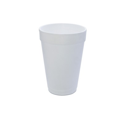 Foam Cup 16oz - White | 25pcsx40pkts
