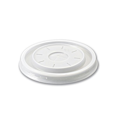 Standard Plastic Lid for 032FC03 and 032FC06 w/ Precut-X | 1000pcs