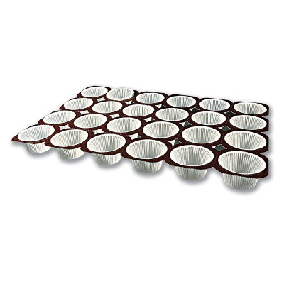 Paper Muffin Baking Mould 2oz | 24pcsx125Trays