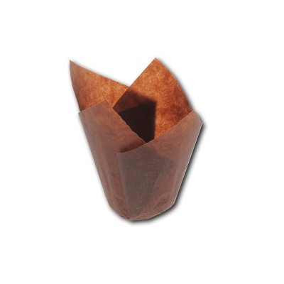 Grease-Proof Slip-Easy Paper Tulip Cups 50x95mm | 1000pcs