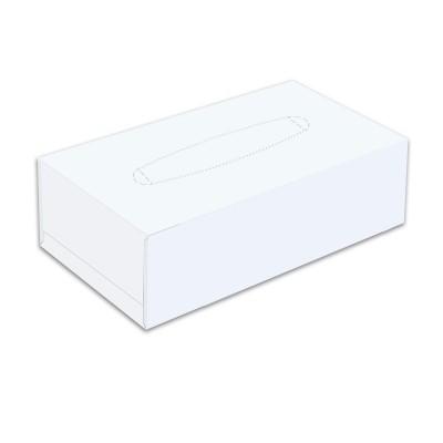 2-Ply White Facial Tissue 19x21cm x 130sheets 14gsm   30pkts