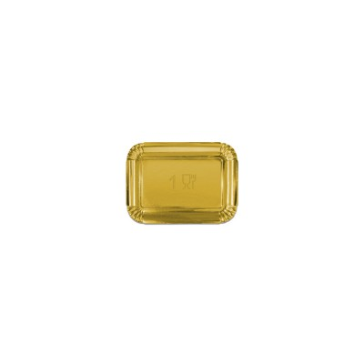 Premium Golden Paper Tray 180x130x16mm | 10kgs