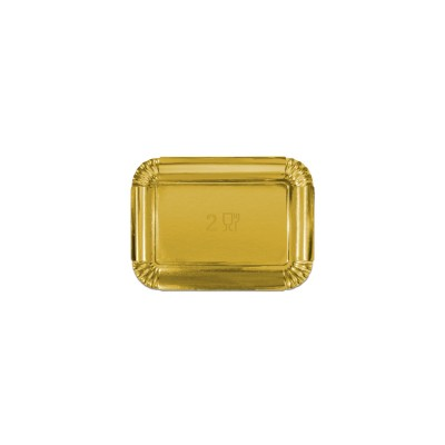 Premium Golden Paper Tray 215x150x16mm | 10kgs