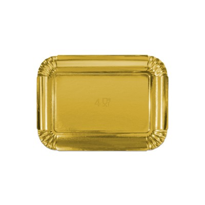Premium Golden Paper Tray 265x185x18mm | 10kgs