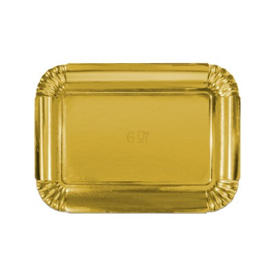 Premium Golden Paper Tray 322x242x20mm | 10kgs