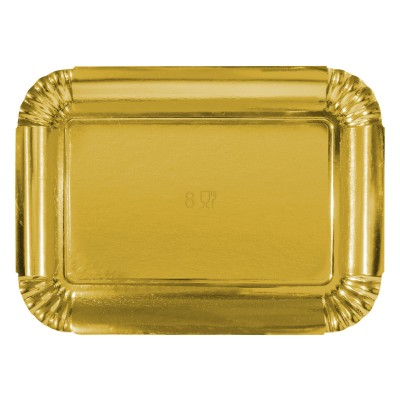 Premium Golden Paper Tray 400x295x20mm | 10kgs