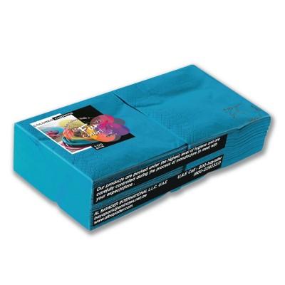 Fun® 2-Ply Napkin 25x25cm - Turquoise | 100pcsx38pkts