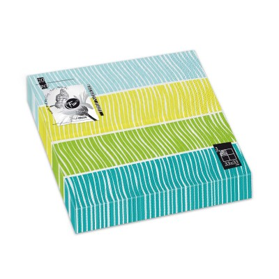Fun® 3-Ply Napkin 33x33cm - Evergreen 2 | 20pcsx12pkts