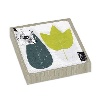 Fun® 3-Ply Napkin 33x33cm - Evergreen 4 | 20pcsx12pkts