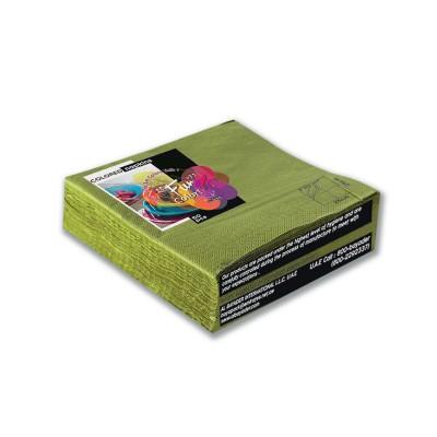 Fun® 2-Ply Napkin 33x33cm - Olive | 50pcsx24pkts