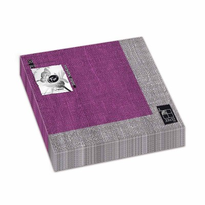Fun® 3-Ply Napkin 33x33cm - Purple 2 | 20pcsx12pkts