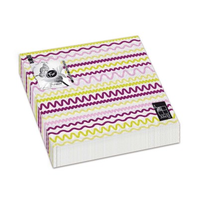 Fun® 3-Ply Napkin 33x33cm - Purple 4 | 20pcsx12pkts