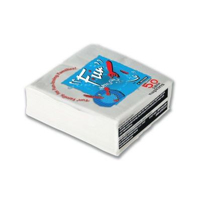 Fun® Premium 2-Ply Napkin 33x33cm - White | 50pcsx54pkts