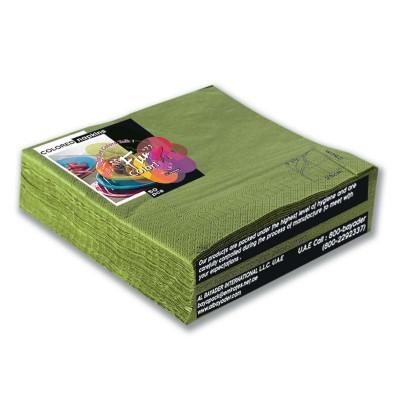 Fun® 2-Ply Napkin 40x40cm - Olive | 50pcsx20pkts