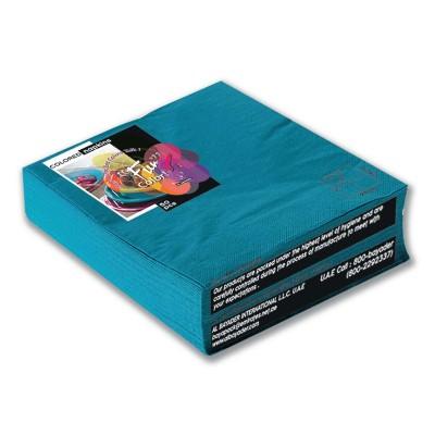 Fun® 2-Ply Napkin 40x40cm - Turquoise | 50pcsx20pkts