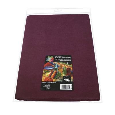Fun® PP-Nonwoven Table Cover 1.8x1.2m - Plum   1pcx12pkts
