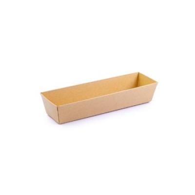Paper Rect. Shushi Box 180x55mm | 50pcsx20pkts