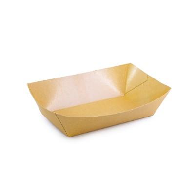 Brown Kraft Large Snack Tray - 170x95x57mm   300pcs