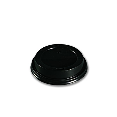 Sip-Through Dome Lid for 042CG8 - Black | 1000pcs