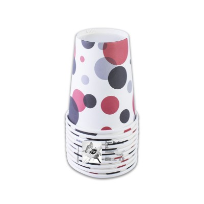 Fun® Paper Cup 7oz - Fiery Red 5 | 10pcsx12pkts