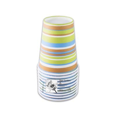 Fun® Paper Cup 7oz - Evergreen 5 | 10pcsx12pkts