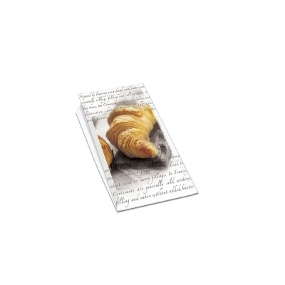 Paper Bag 14+7x21cm (for 6 Croissants) | 1000pcs