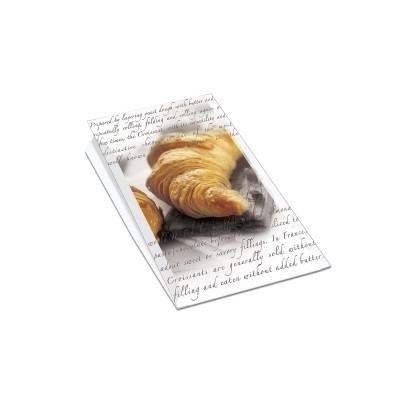 Paper Bag 18+8x27cm (for 12 Croissants) | 1000pcs